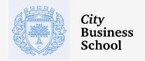 City Business School MINI- MBA