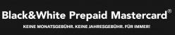Cashback bei Black&Whitecard Prepaid Mastercard in Deutschland